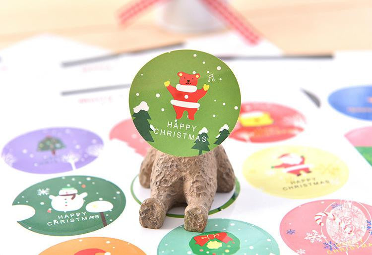 Korea Christmas Stickers Set of 2 Packs - X782A