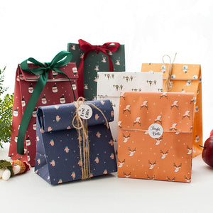 Christmas Paper Bags Set of 6 - X783B
