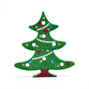 Christmas Diamond Painting Kits with LED lights XM1021D
