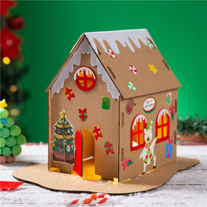 Make your own Christmas Gingerbread House DIY Kit XM1031I