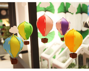 Hot Air Balloon Mobile Felt Set A706A/B/D/E