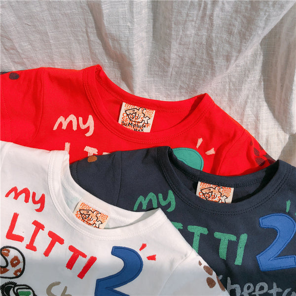 2-8Y Korea Design Boys shirt A10461G
