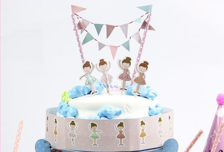Party Cake Topper Set A703A/B/C/D/F/H