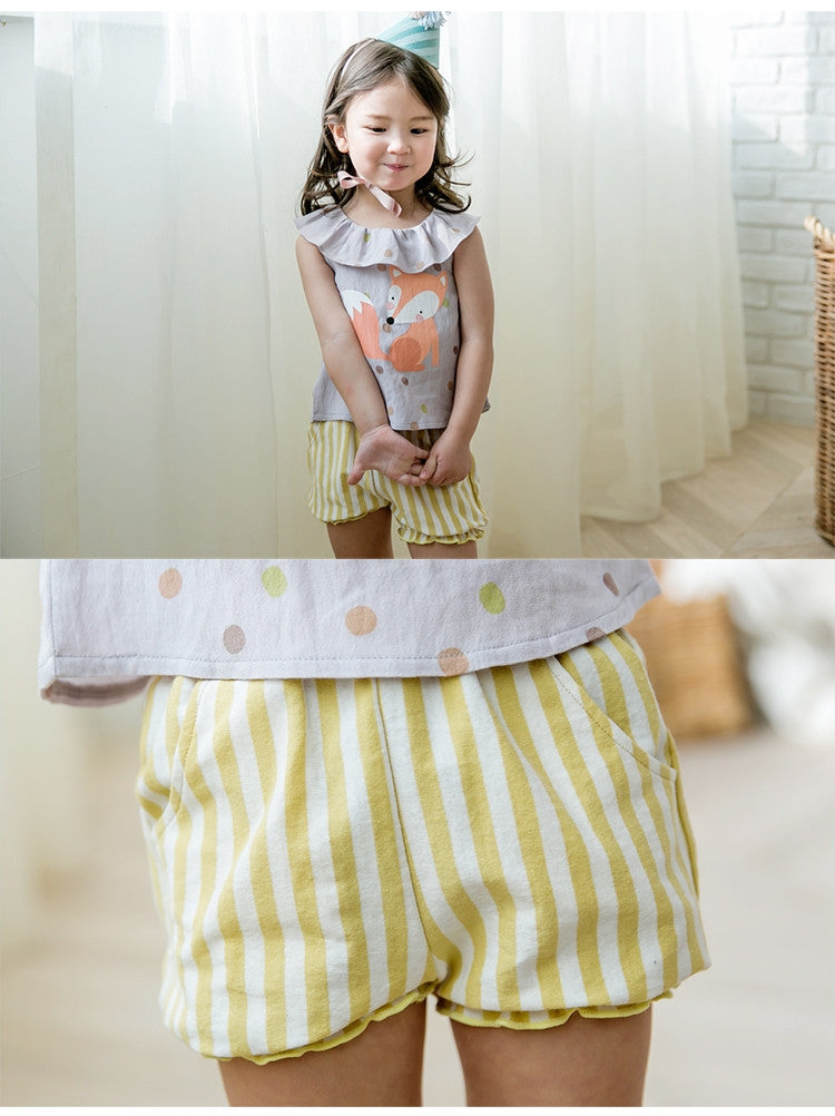 1-4Y Bebezoo Girls Top and Bottom 2pcs Set K2012J