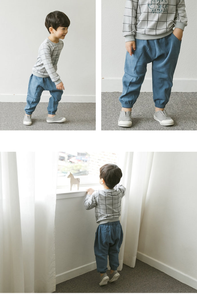 1-5Y Bebezoo Boys Pants A1036A