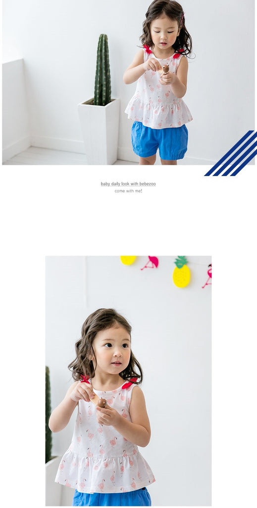 1-4Y Bebezoo Girls Top and Bottom 2pcs Set K2012O