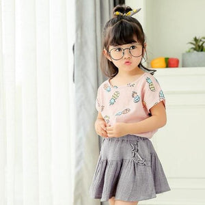 2-7Y Pink Pineapple Shirt A2023M