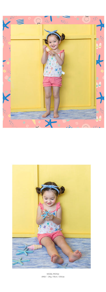 1-8Y Bebezoo Girls Top and Bottom 2pcs Set K2012I