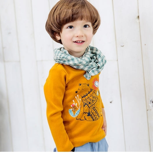 1-4Y Kids Bebezoo Long-Sleeve Shirt K1011M