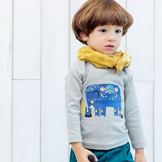 1-4Y Kids Bebezoo Long-Sleeve Shirt K1011L