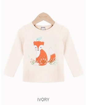 1-4Y Kids Bebezoo Long-Sleeve Shirt K1011N