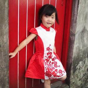 2-8Y Girls Cheongsam Dress A200C63B