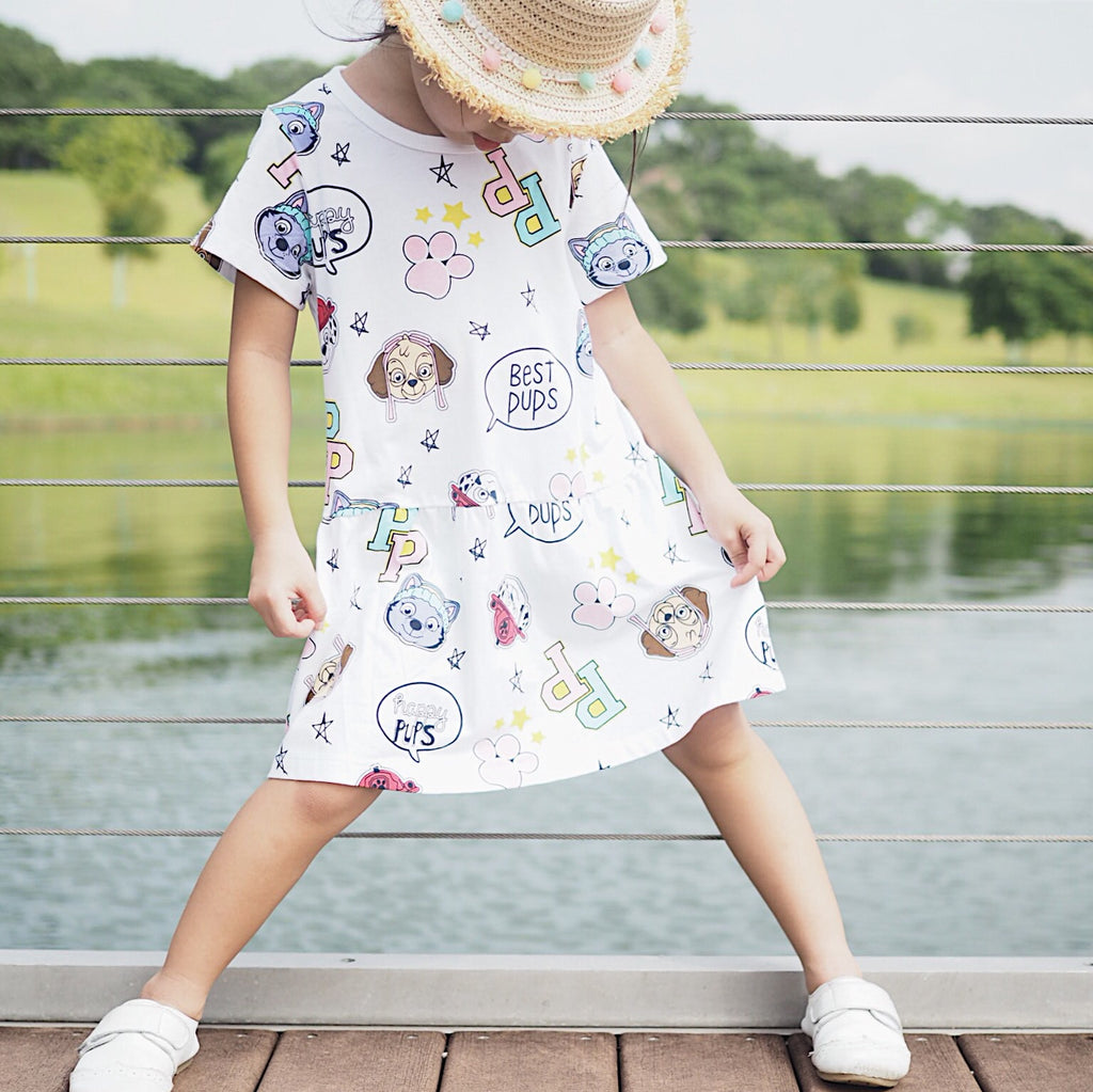 1-6Y Girls Jumping Meters Dress A20141G