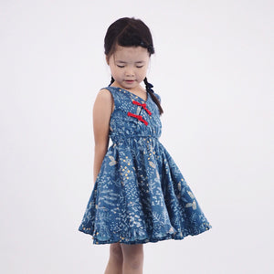 1-8Y Girls Modern Cheongsam Twirl Dress A200CEE013A