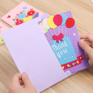 DIY Handmade Card Kit for Friends , Family or Teachers TD1007C