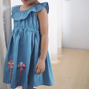 2-7Y Girls Jumping Beans Lollipop Dress A20141A