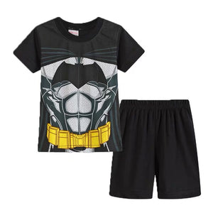 Boys Batman Top and Bottom 2pcs Set A1061B