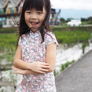 2-8Y Girls Hello Kitty Cheongsam Dress A200C63G