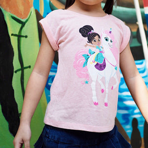 2-6Y Girls Nella The Princess Knight Shirt A20214K