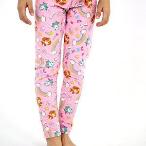 2-6Y Girls Pink Legging Pants A20413A
