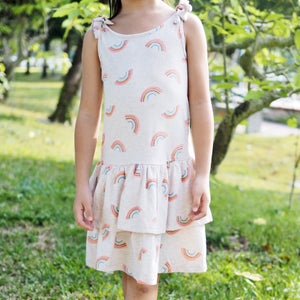 2-8Y Girls Layer Dress A20135C