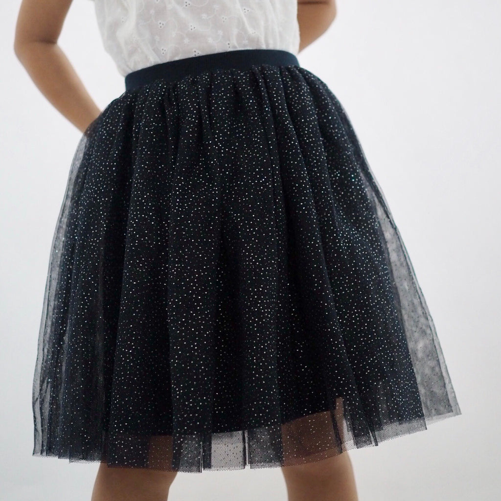Girls Glitter Tutu Skirt A20414B