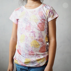 Girls Short-Sleeves Shirt A20216L