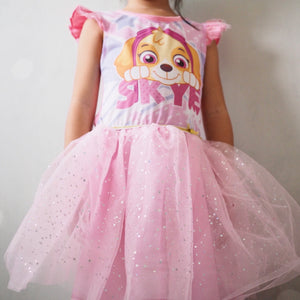 Girls Paw Patrol Skye Tulle Dress A20135L