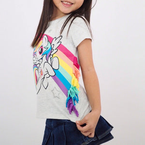 2-7Y Girls My Little Pony Shirt A20215L