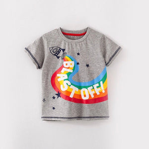 2-7Y Boys Short Sleeve T-Shirt A10424J