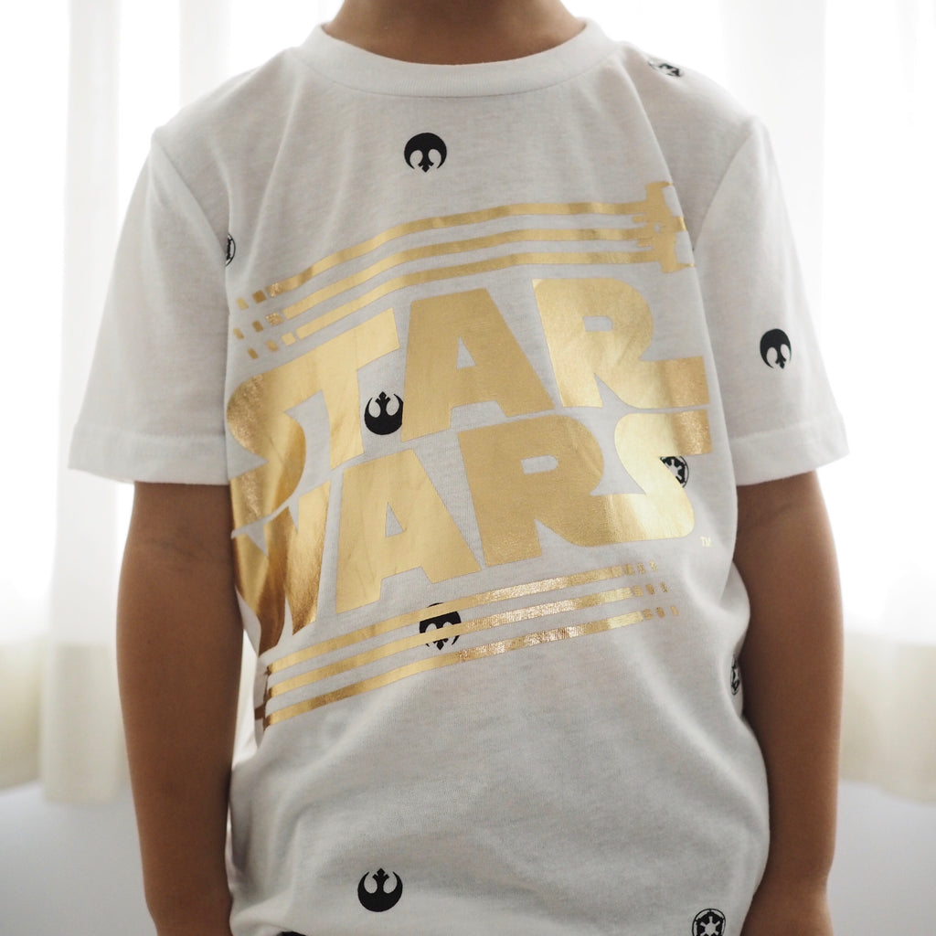 2-7Y Boys Short Sleeve T-Shirt A10428E