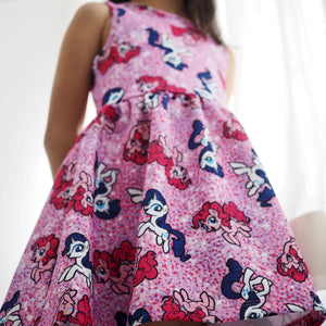 Girls My Little Pony Flare Dress A20135J