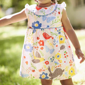 2-7Y Girls Jumping Beans Forrest Dress A20141B