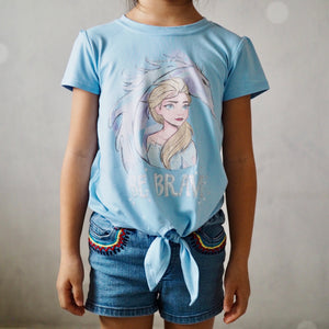 Girls Short-Sleeves Shirt A20217H