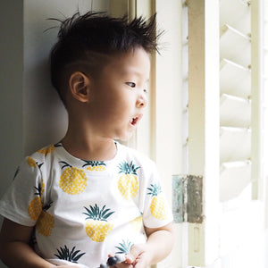 1-6Y Boys Pineapple Shirt A10423L