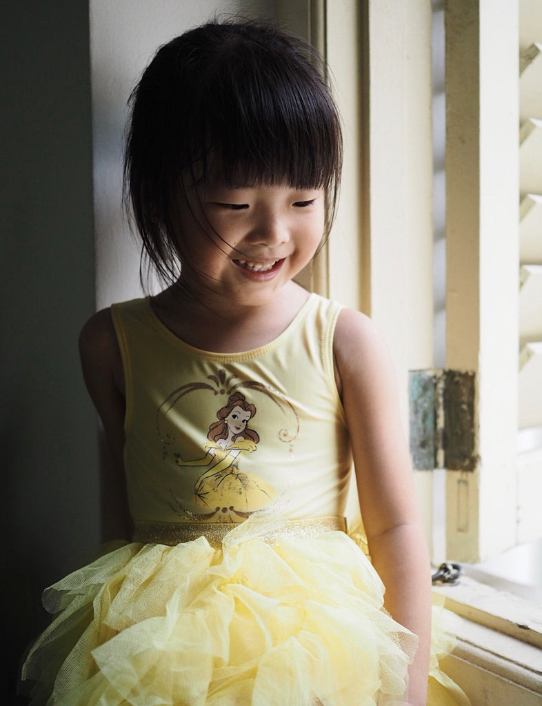 2-6Y Girls Belle Beauty and the Beast Tulle Dress A20129E