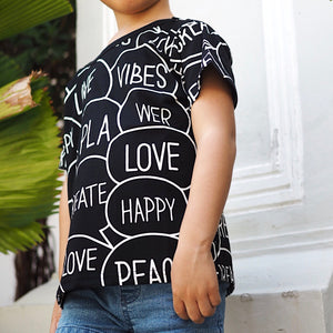 1-6Y Kids Short-Sleeves Shirts A10425H