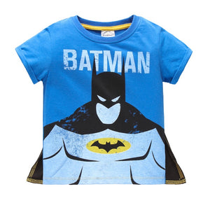 2-7Y Boys Short Sleeve Batman T-Shirt A1042N