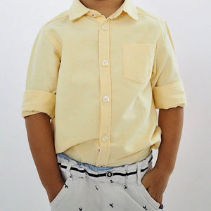 3-12Y Boys Long-sleeves Shirt A10443A