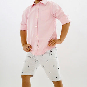 3-12Y Boys Long-sleeves Shirt A10443C