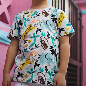 2-7Y Boys Short Sleeve T-Shirt A10424G