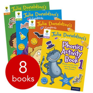 Oxford Songbirds Phonics Activity 8 Books BK2101B