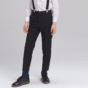 2-15Y Kids Black Pants C2005G