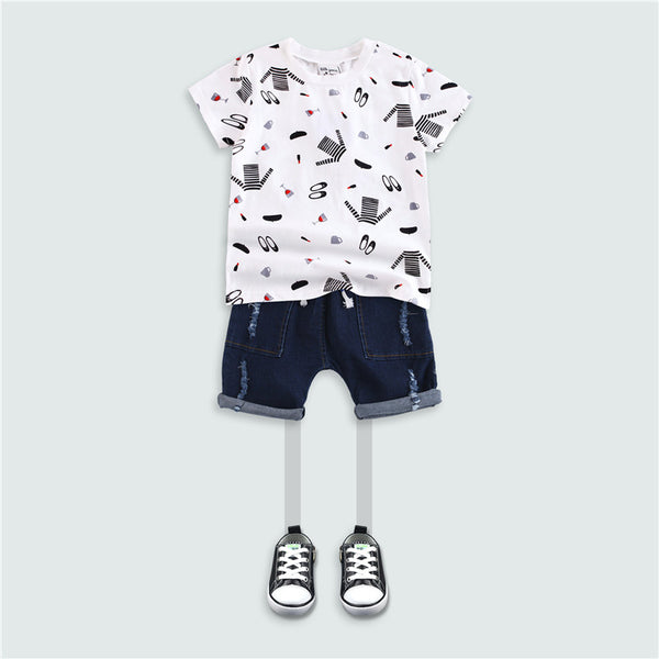 3-10Y Korea Design Boys shirt A1046O