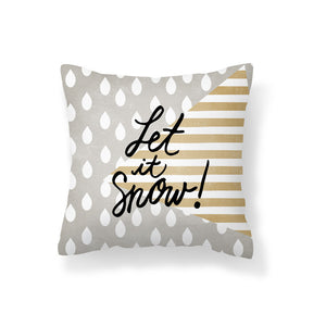 Cushion Cover PPD651A Let it Snow