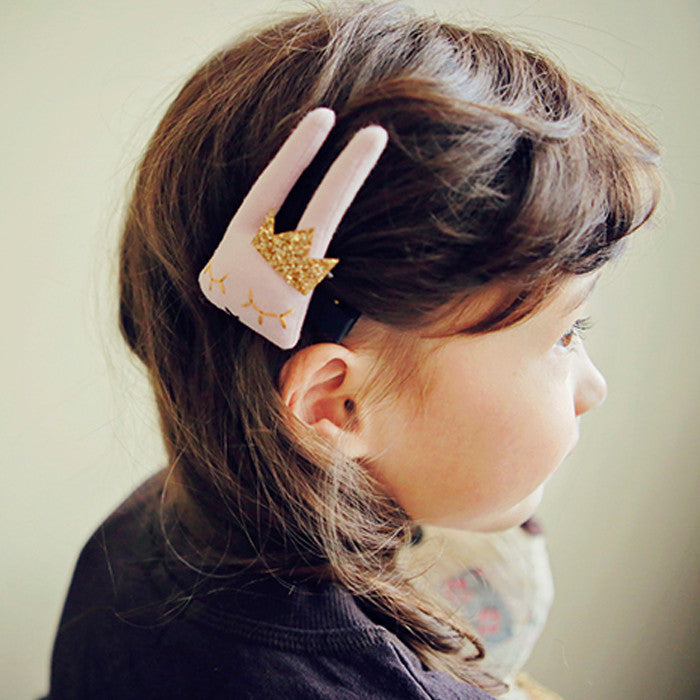 100% Handmade Kids Hair Clip 6 Colours available A323G83A/B/C/D/E/F/