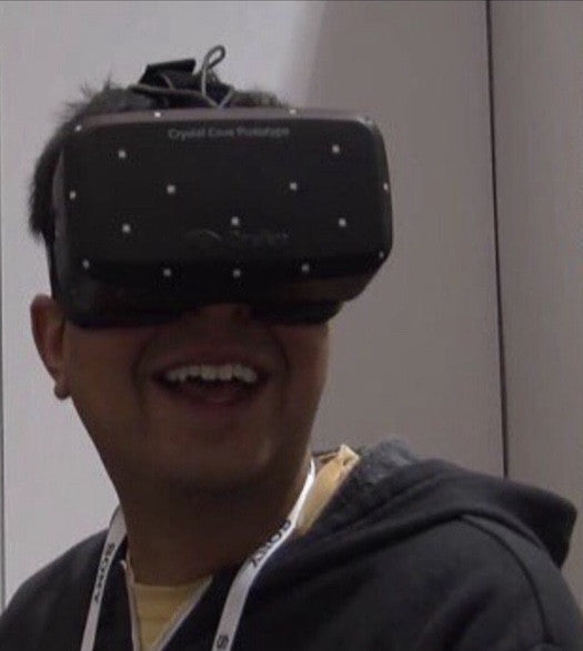 Signed Picture of Asif in VR