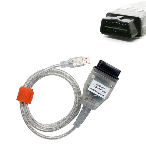 BMW INPA K+DCAN USB Interface OBD2 OBDII 16 Pin Car Diagnostic Cable