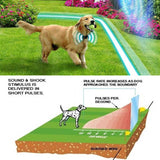 Wireless Electronic Pet Dog Fence System Invisible Underground Containment System Shock Collar
