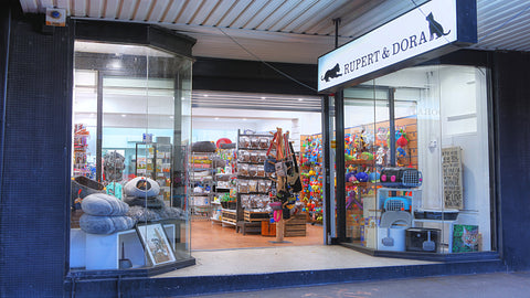 Rupert & Dora - Paddington - Sydney Boutique for Man's Best Friend